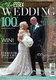 Cover of the September/October 2021 issue of An Essex Wedding magazine