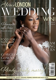 Cover of the September/October 2021 issue of Your London Wedding magazine