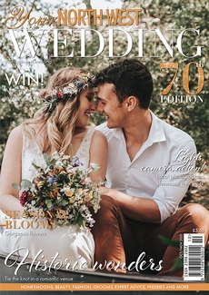Cover of the October/November 2021 issue of Your North West Wedding magazine