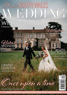 Cover of the September/October 2021 issue of Your South Wales Wedding magazine