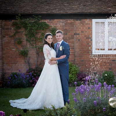 Rustic romance for Kate and Gary