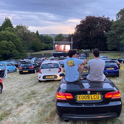 Flix Drive-in and Reading FC bring UK's first Drive In, Sit Out cinema to region
